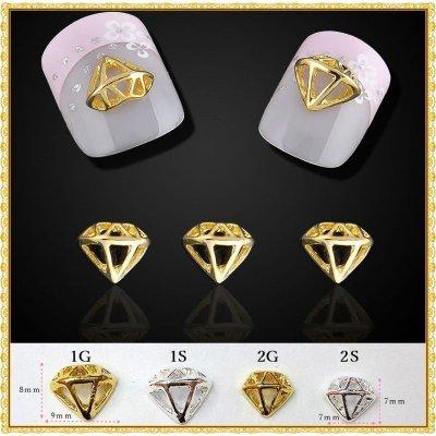 画像1: ダイヤモンド型 パーツ