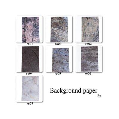 画像1: 背景紙 7種類 Ro